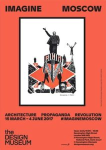 Cartel de la exposición 'Imagine Moscow'