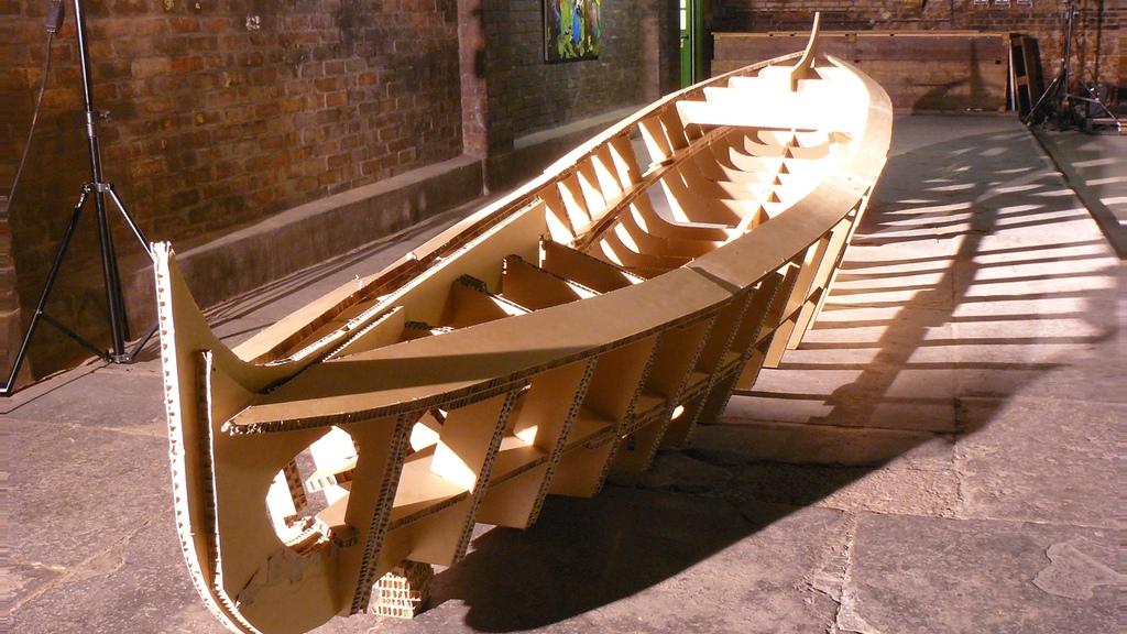 The Cardboard Gondolier
