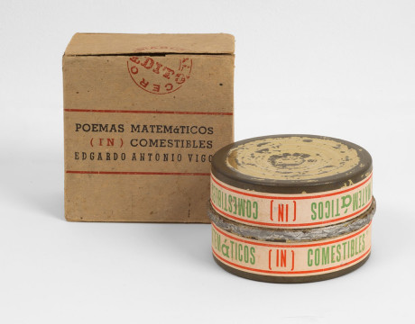 © Edgardo Antonio Vigo /Poemas Matemàticos (In)comestibiles,1968