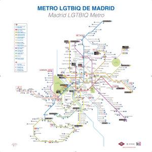 Metro LGTBIQ de Madrid
