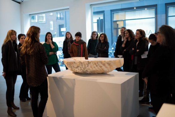 Encuentro con Pilar Ordovás en su galería de Mayfair