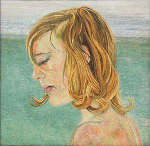 Chica a la orilla del mar, Lucian Freud
