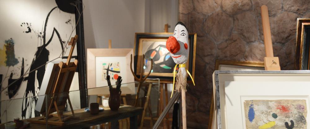 estudio de Miró en Londres